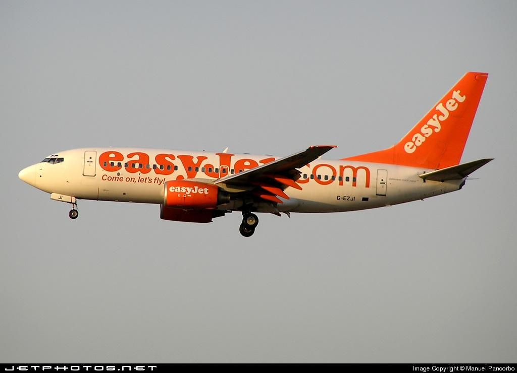 G-EZJI - Boeing 737-73V - easyJet