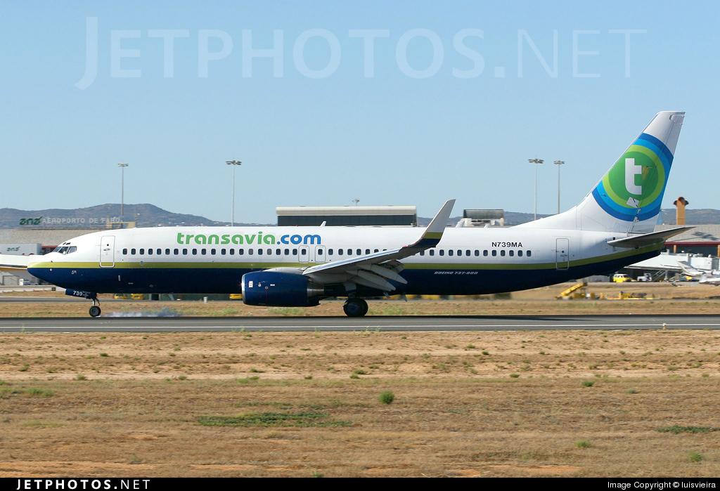 N739MA - Boeing 737-8Q8 - Transavia Airlines (Miami Air International)