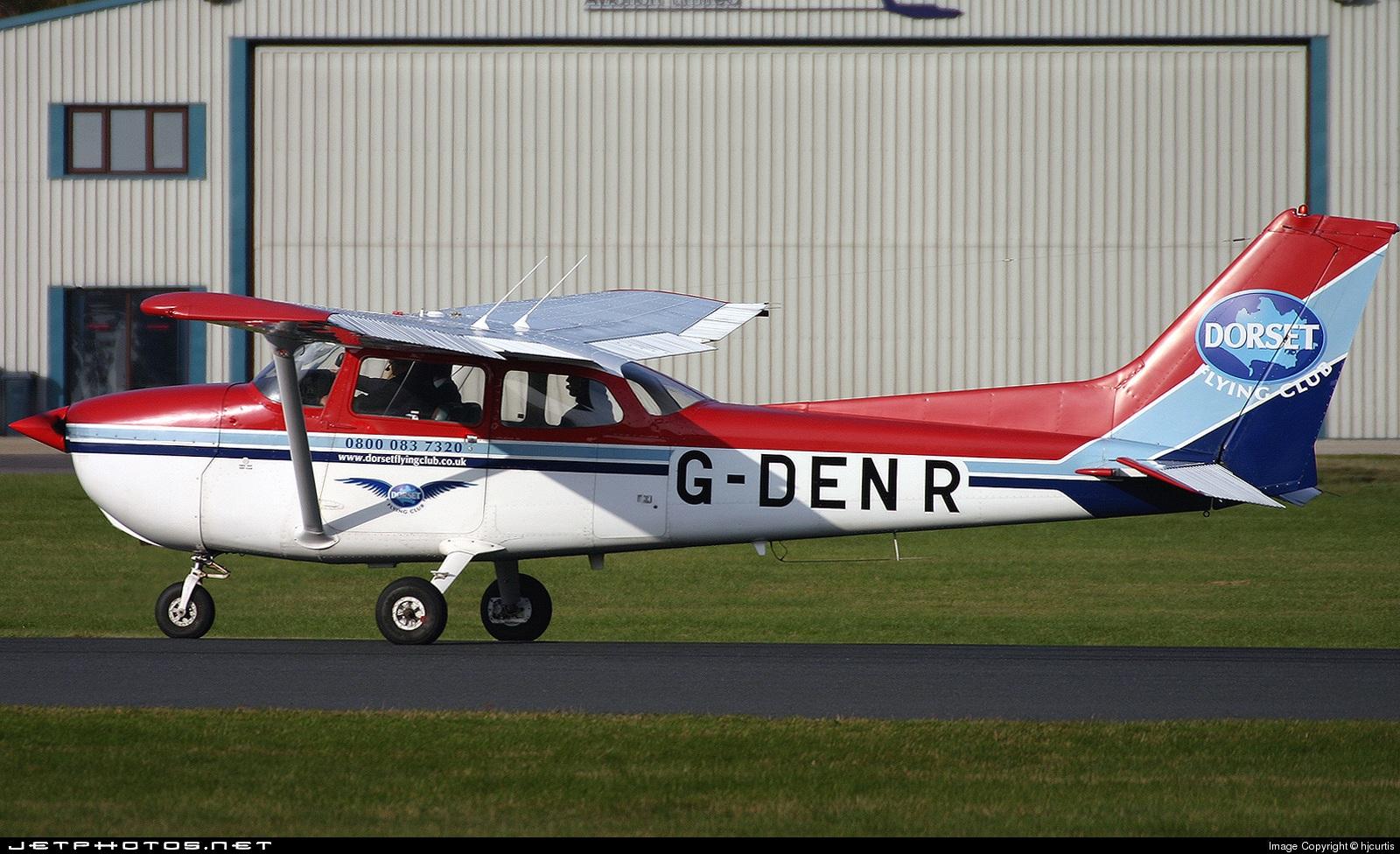 G-DENR - Reims-Cessna F172N Skyhawk II - Dorset Flying Club