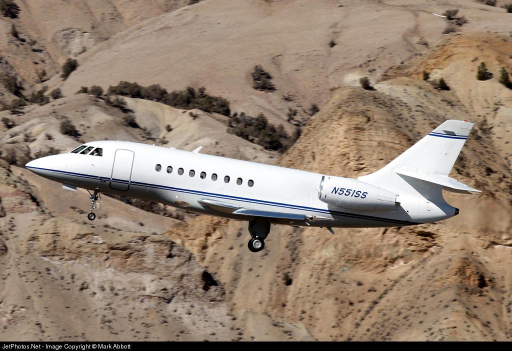 N551SS - Dassault Falcon 2000 - Private