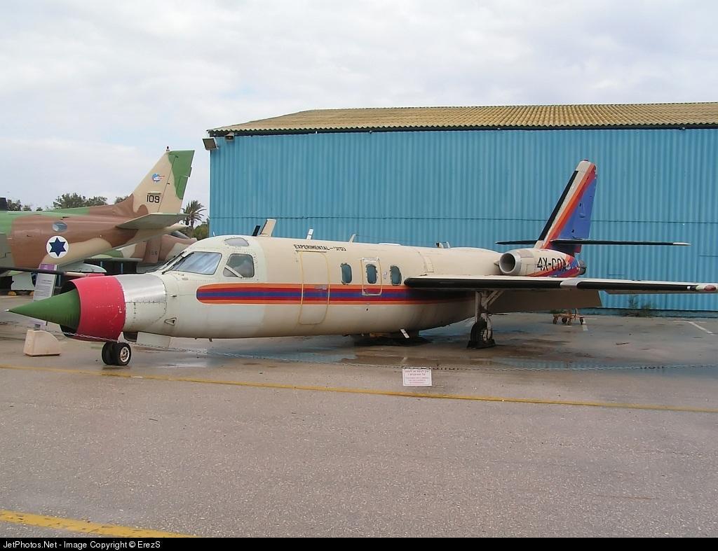 4X-COA - Aero Commander 1121 Jet Commander - Israel - Air Force
