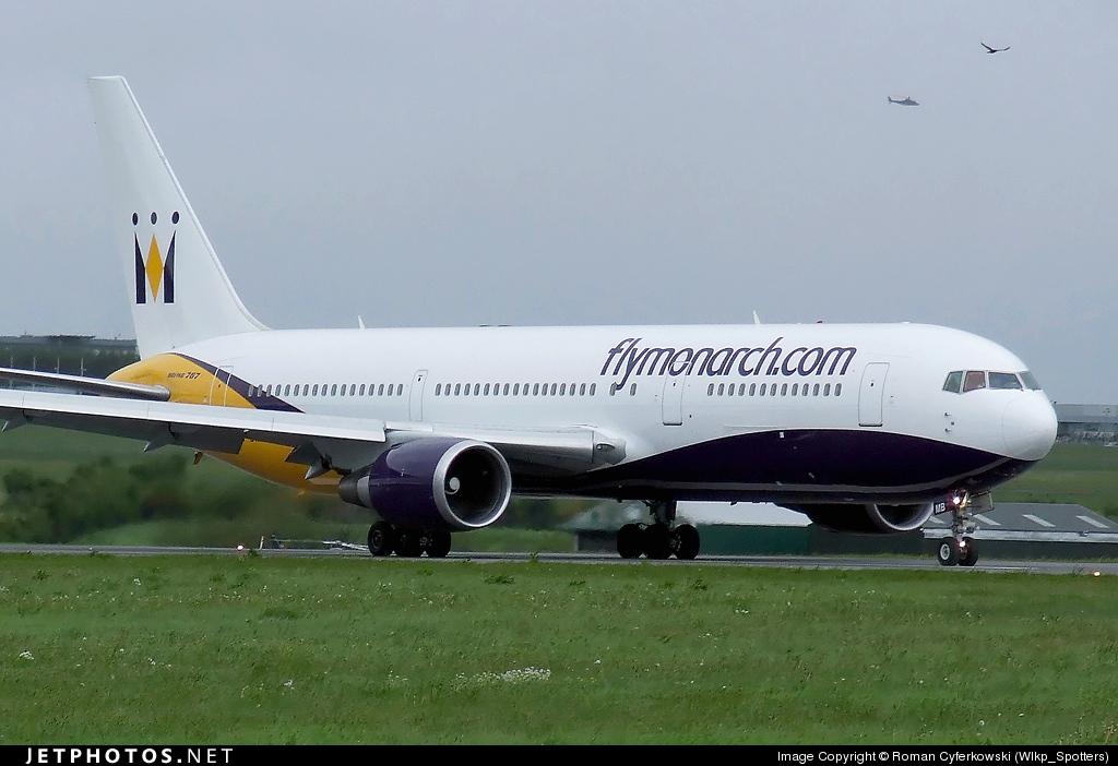 G-DIMB - Boeing 767-31K(ER) - Monarch Airlines