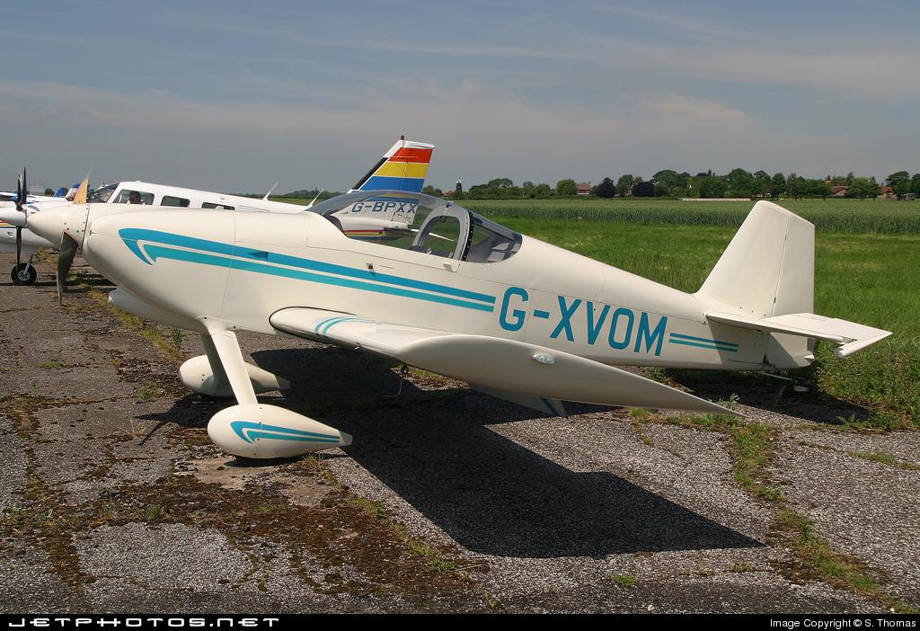 G-XVOM - Vans RV-6 - Private