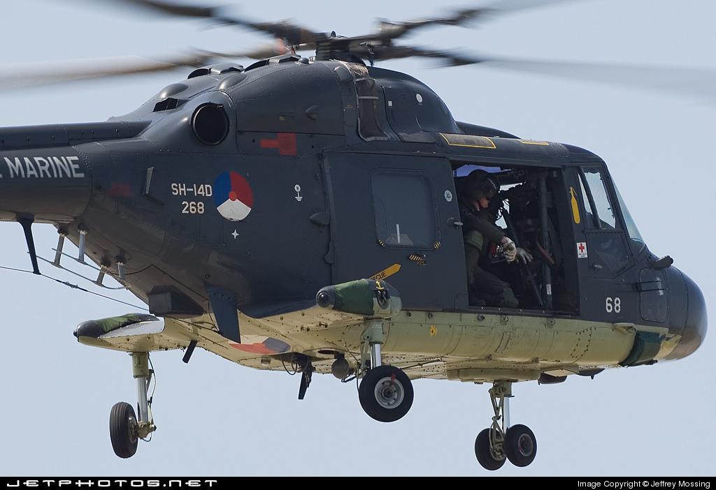 268 - Westland SH-14D Lynx - Netherlands - Navy