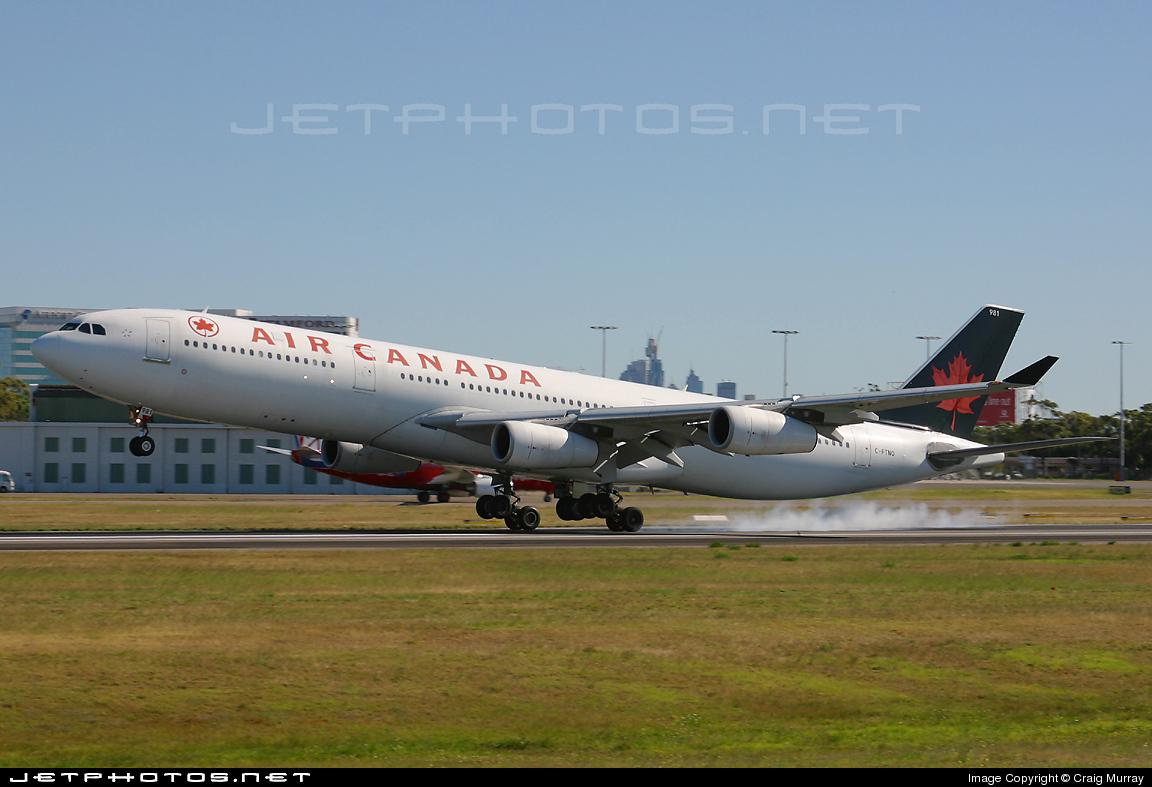 C-FTNQ - Airbus A340-313 - Air Canada