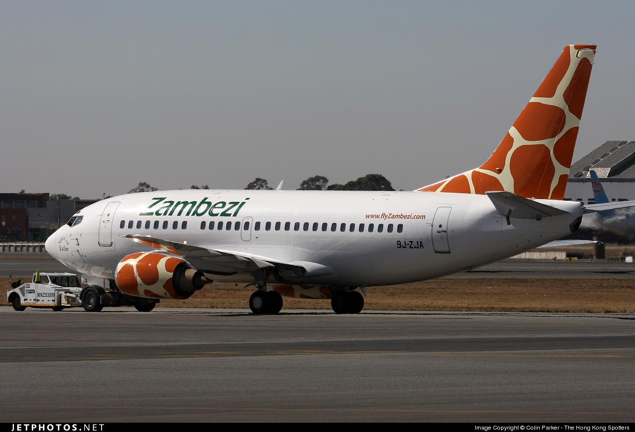 9J-ZJA - Boeing 737-529 - Zambezi Airlines