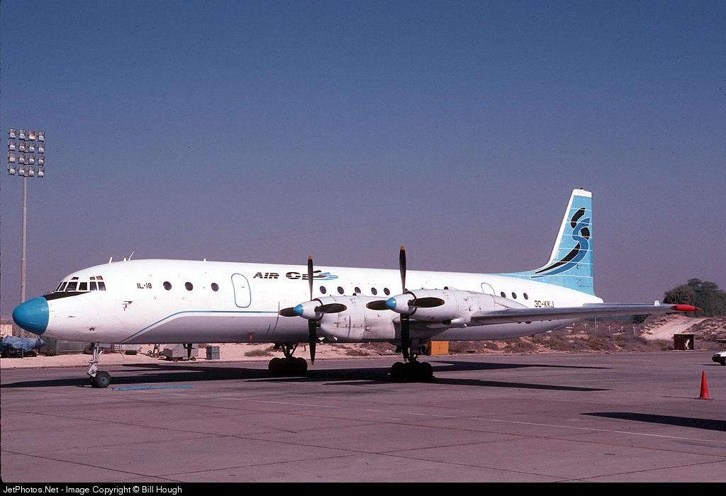3L-KKJ - Ilyushin IL-18 - Air Cess