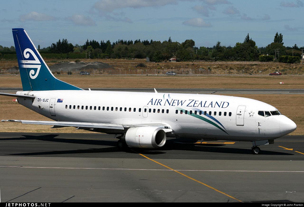 ZK-SJC - Boeing 737-3U3 - Air New Zealand