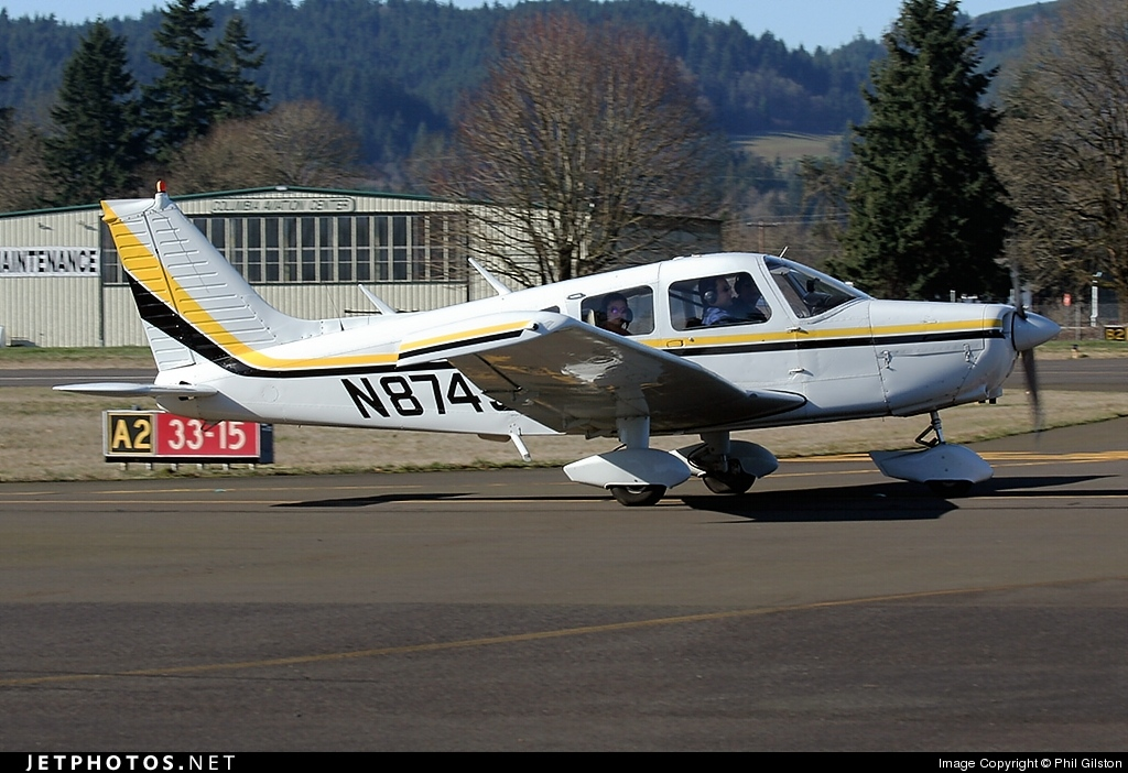 N8745F - Piper PA-28-151 Cherokee Warrior - Private