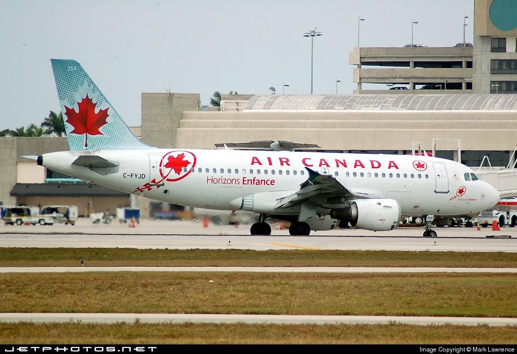 C-FYJD - Airbus A319-114 - Air Canada