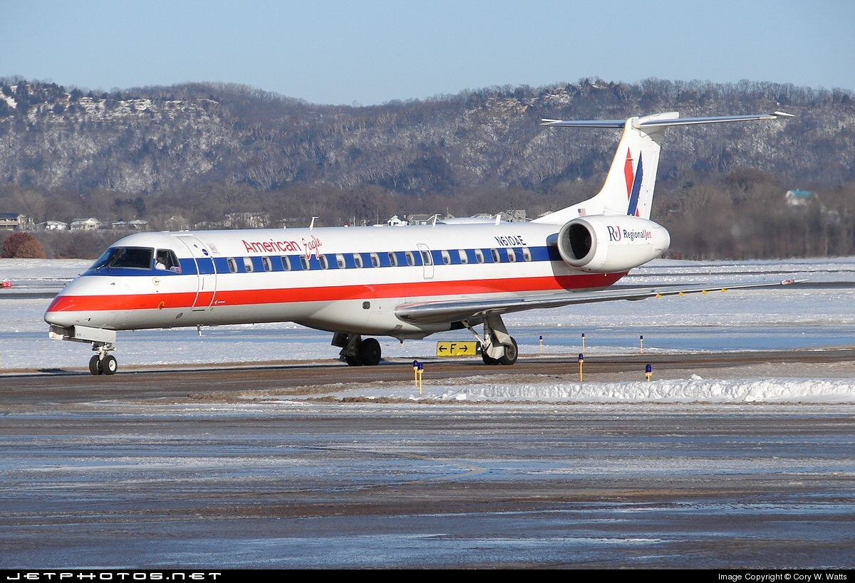 N610AE - Embraer ERJ-145LR - American Eagle