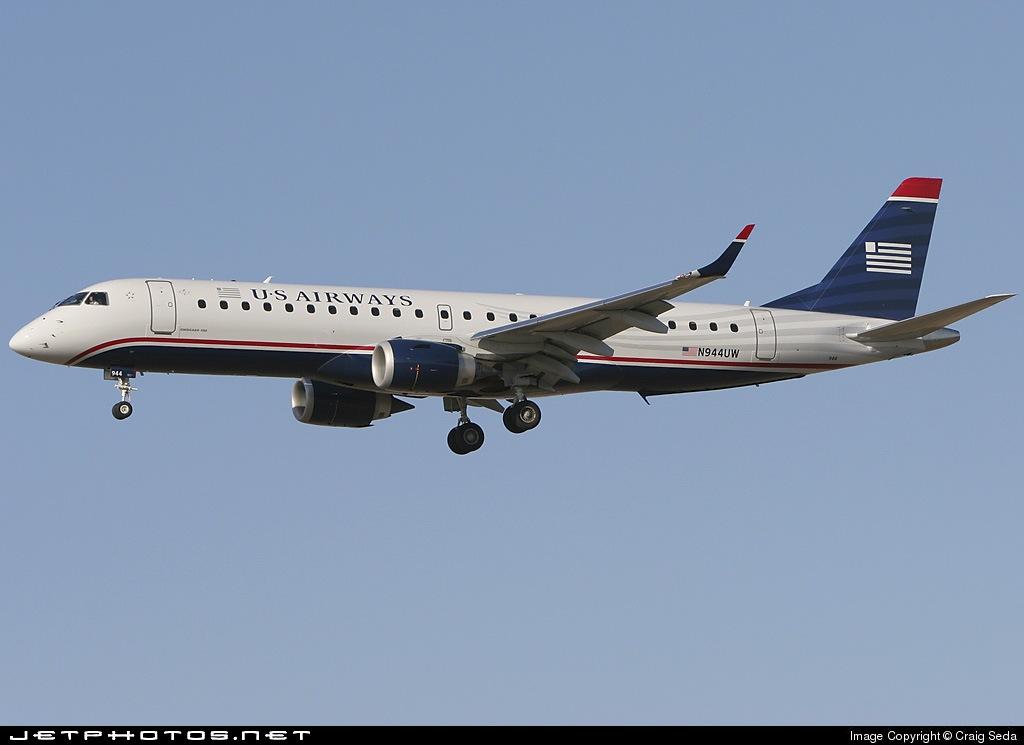 N944UW - Embraer 190-100IGW - US Airways