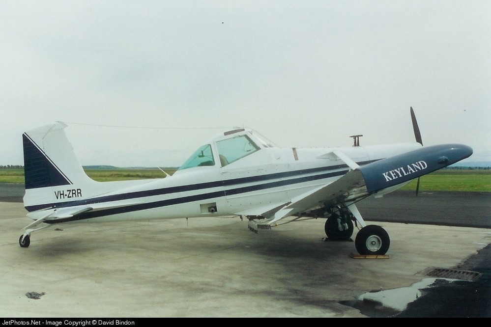 VH-ZRR - Cessna A188B Ag Truck - Keyland Aviation