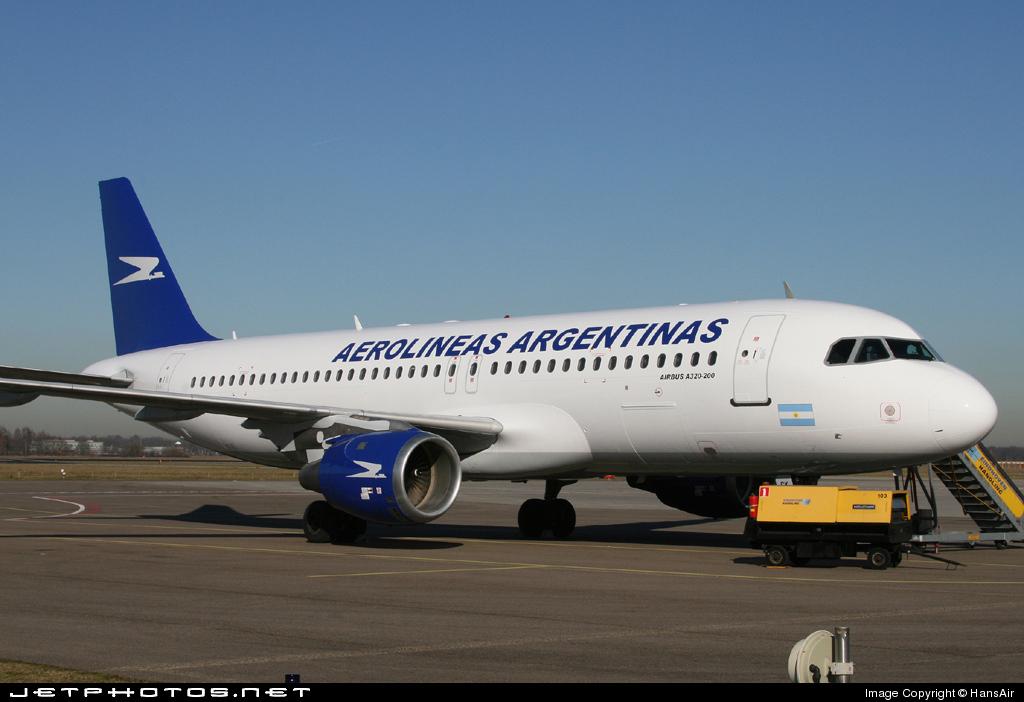 OO-TCK - Airbus A320-212 - Aerolíneas Argentinas