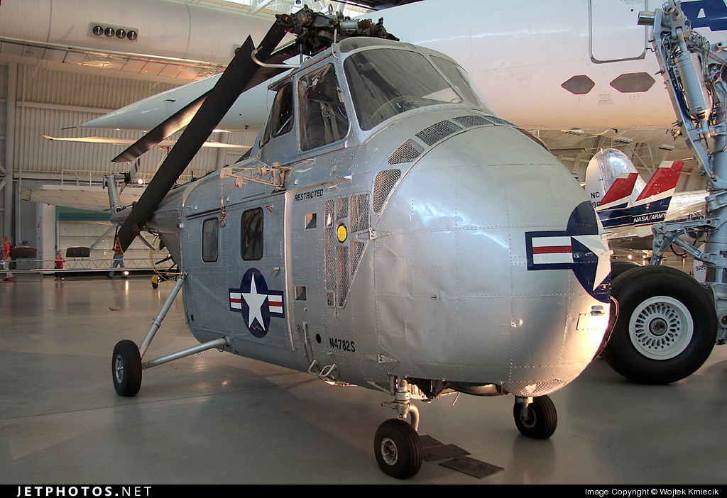 N4782S - Sikorsky YH-19A Chickasaw - Private