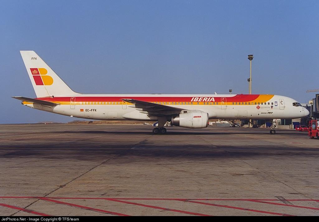 EC-FFK   Boeing 757-236   Iberia (Air Europa)   TFS/team   JetPhotos