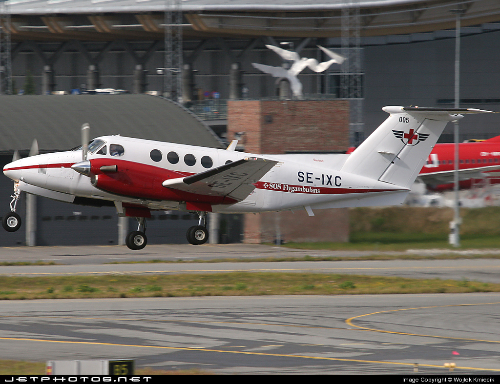 SE-IXC - Beechcraft B200 Super King Air - SOS Flygambulans