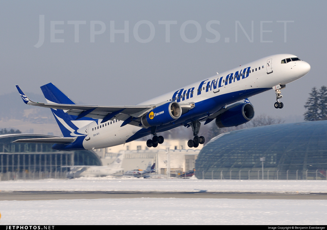 OH-AFI - Boeing 757-2K2 - Air Finland