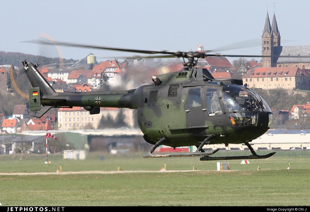 87-51 - MBB Bo105P - Germany - Army