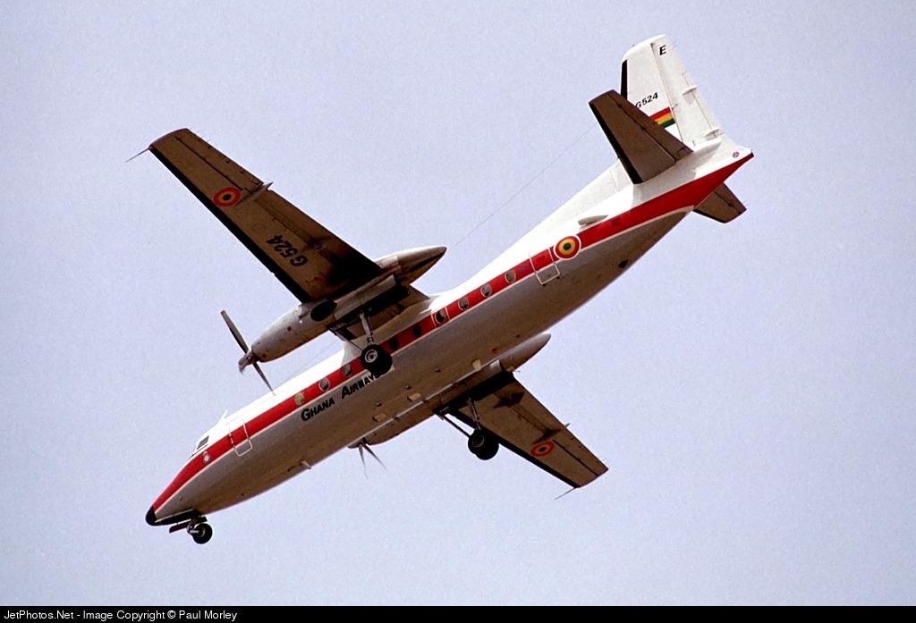G524 - Fokker F27-500 Friendship - Ghana - Air Force