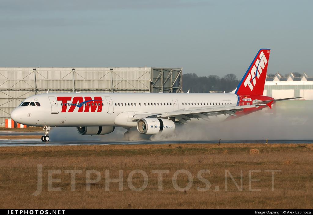 D-AZAP - Airbus A321-231 - TAM Linhas Aéreas