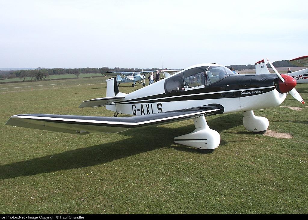 G-AXLS - Jodel DR105A Ambassadeur - Private
