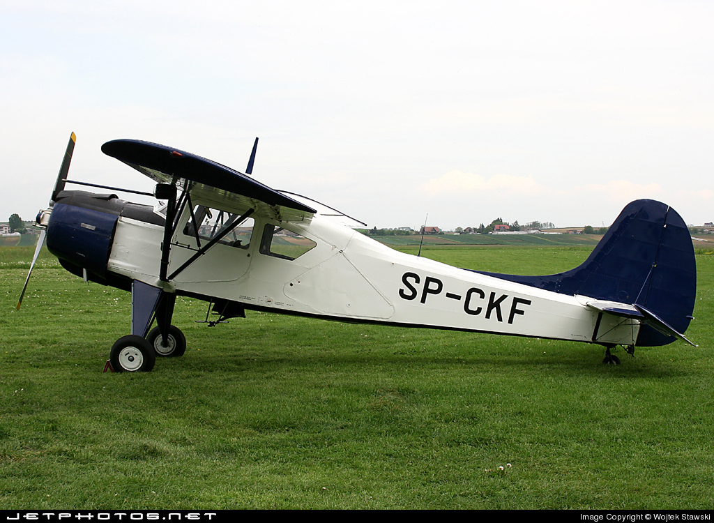 SP-CKF - PZL-Okecie 101A Gawron - Private