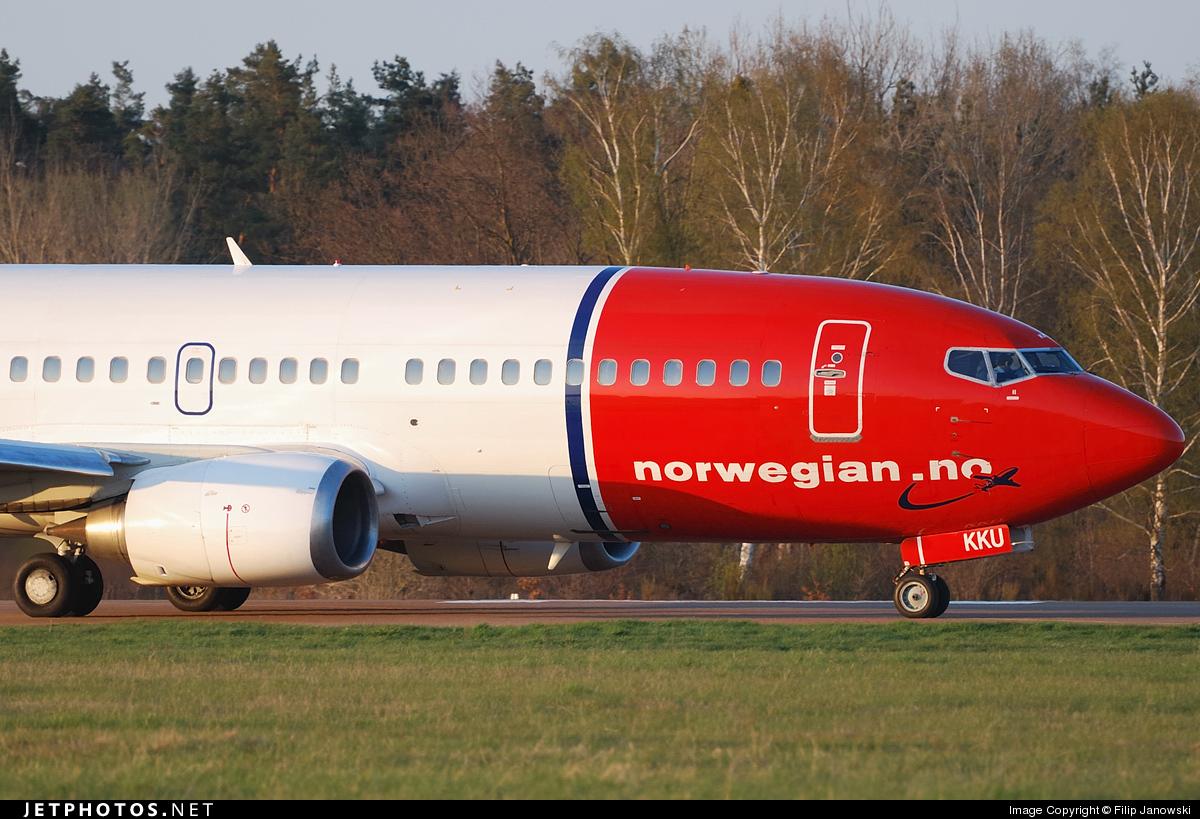 LN-KKU - Boeing 737-3L9 - Norwegian
