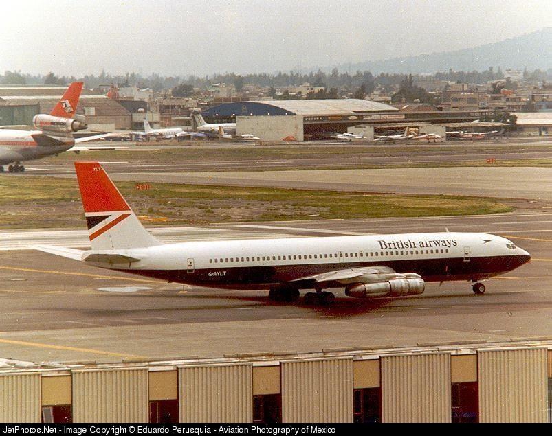 G-AYLT - Boeing 707-336C - British Airways