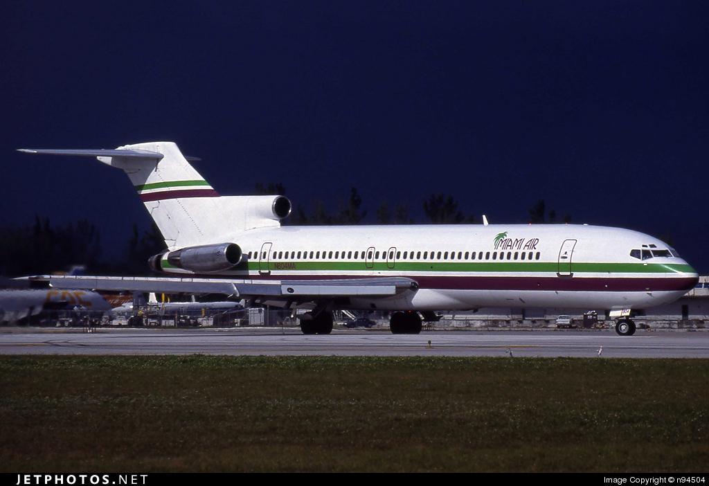 N804MA - Boeing 727-225(Adv) - Miami Air International