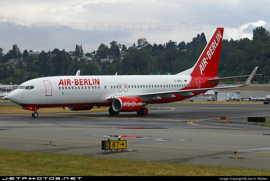 D-ABBX - Boeing 737-808 - Air Berlin