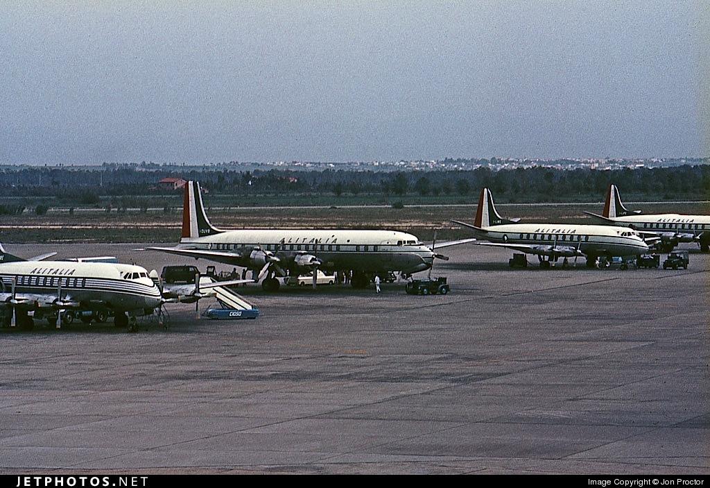 I-DUVB - Douglas DC-7C Seven Seas - Alitalia