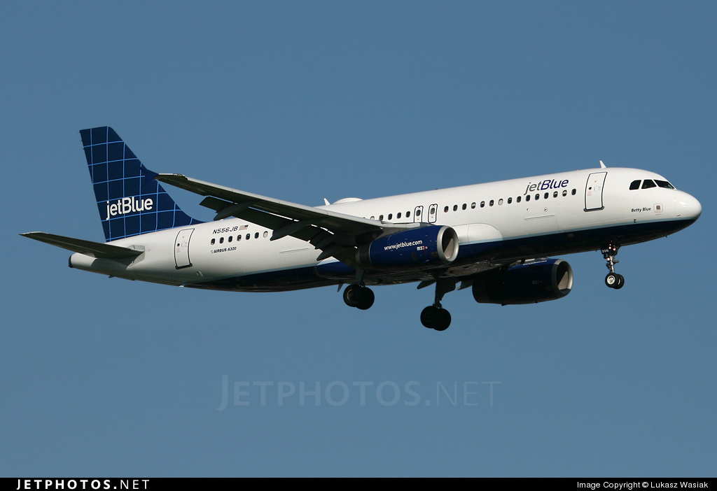 N556JB - Airbus A320-232 - jetBlue Airways