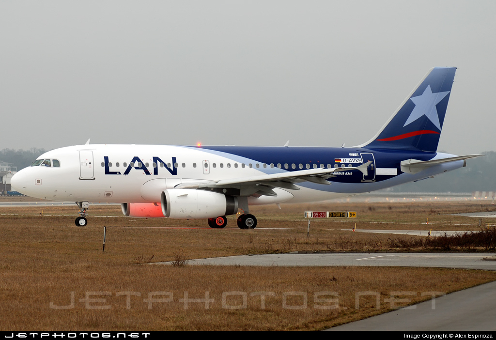 CC-CYI - Airbus A319-132 - LAN Airlines