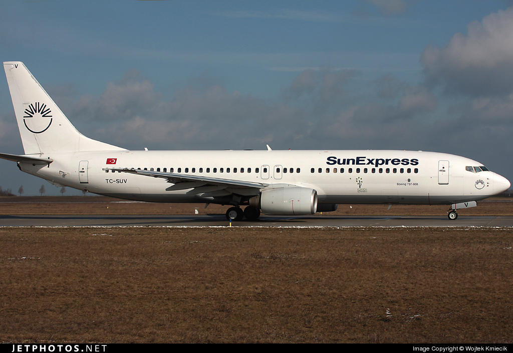 TC-SUV - Boeing 737-86N - SunExpress