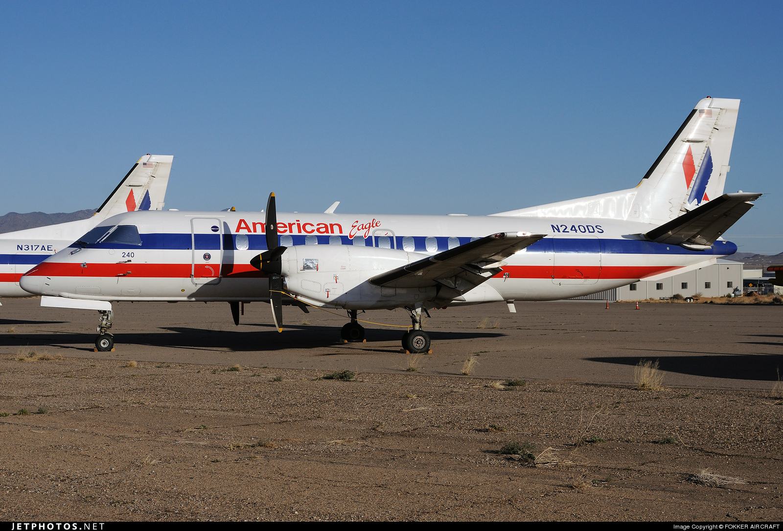 N240DS - Saab 340B - American Eagle