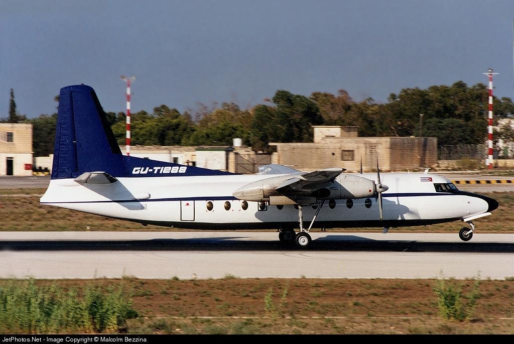 CU-T1288 - Fokker F27-600 Friendship - Cubana de Aviación