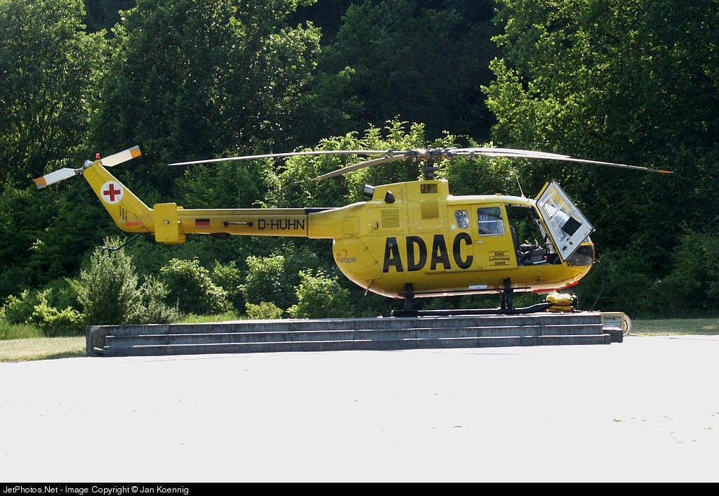 D-HUHN - MBB BO105CBS-5 - Aero-Dienst