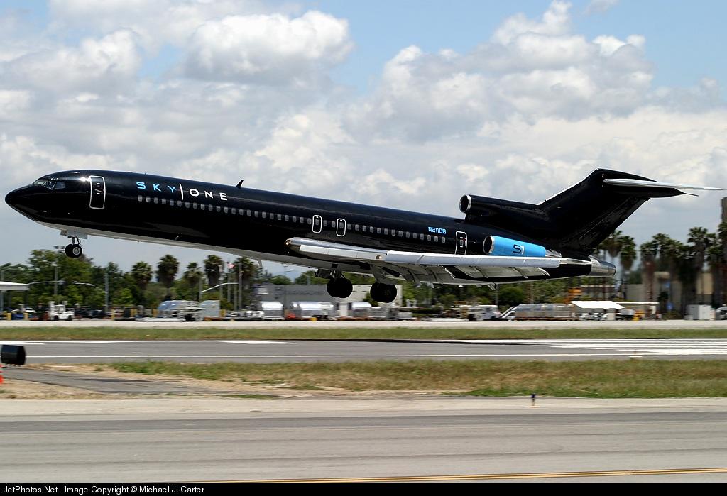 N211DB - Boeing 727-2J4(Adv) - Sky One