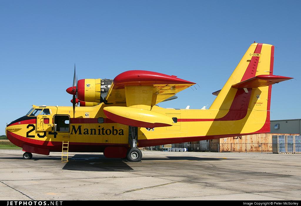 C-GMAK - Canadair CL-215-1A10 - Canada - Manitoba Government Air Services