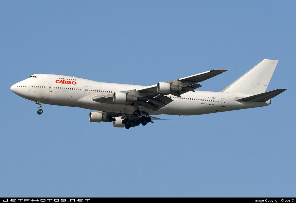 4X-AXF - Boeing 747-258C - Cargo Air Lines (CAL)