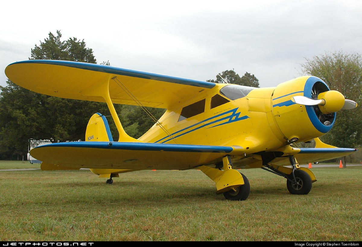 N241K - Beechcraft D17S Staggerwing - Private