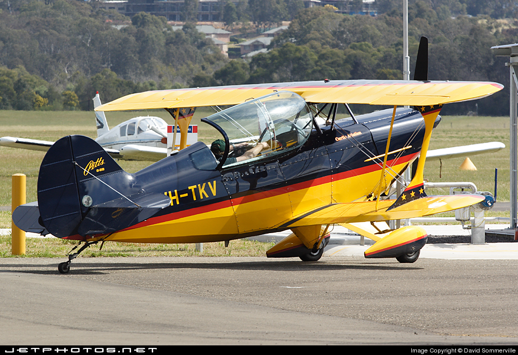 VH-TKV - Pitts S-2B Special - Private