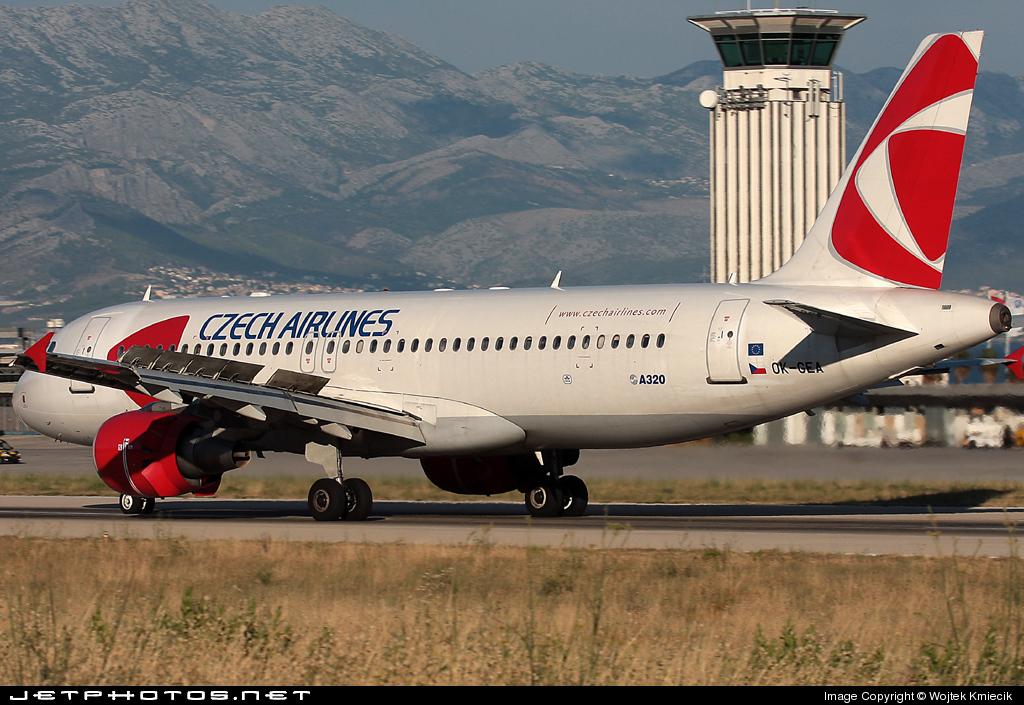 OK-GEA - Airbus A320-214 - CSA Czech Airlines