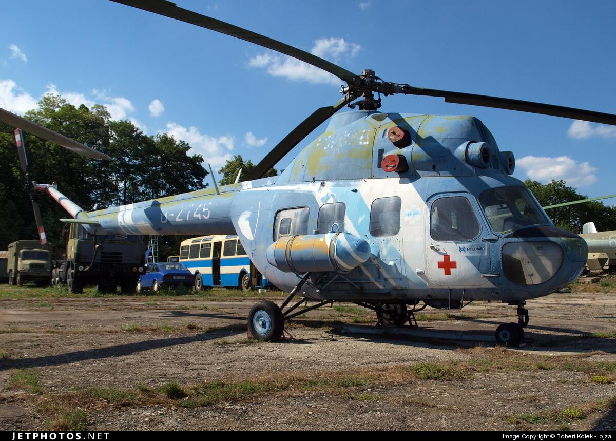 B-2745 - PZL-Swidnik Mi-2 Hoplite - Police Aviation Services