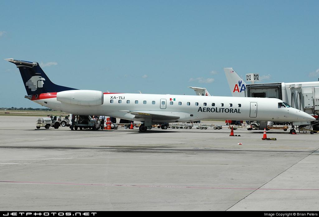 XA-TLI - Embraer ERJ-145LU - Aerolitoral