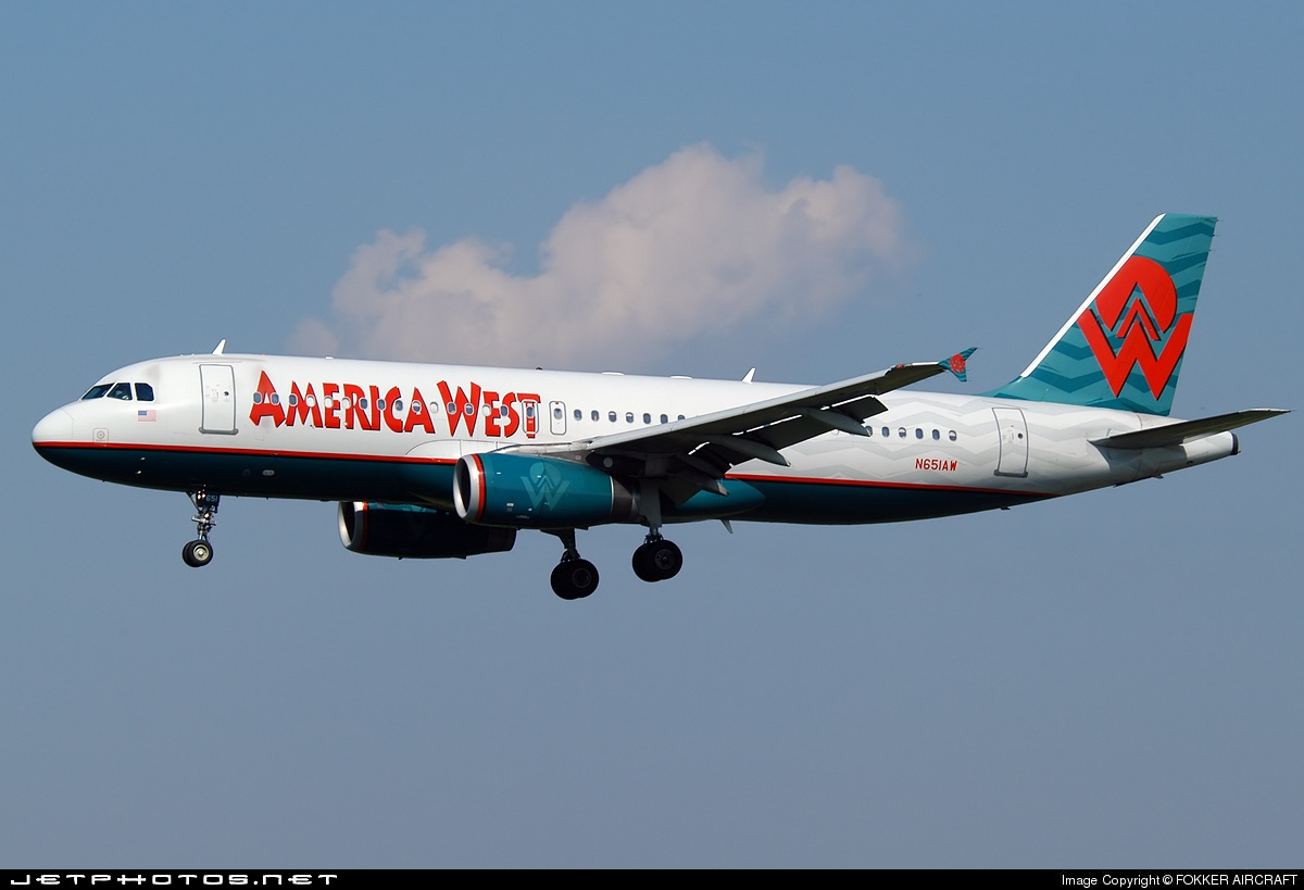 N651AW - Airbus A320-232 - America West Airlines