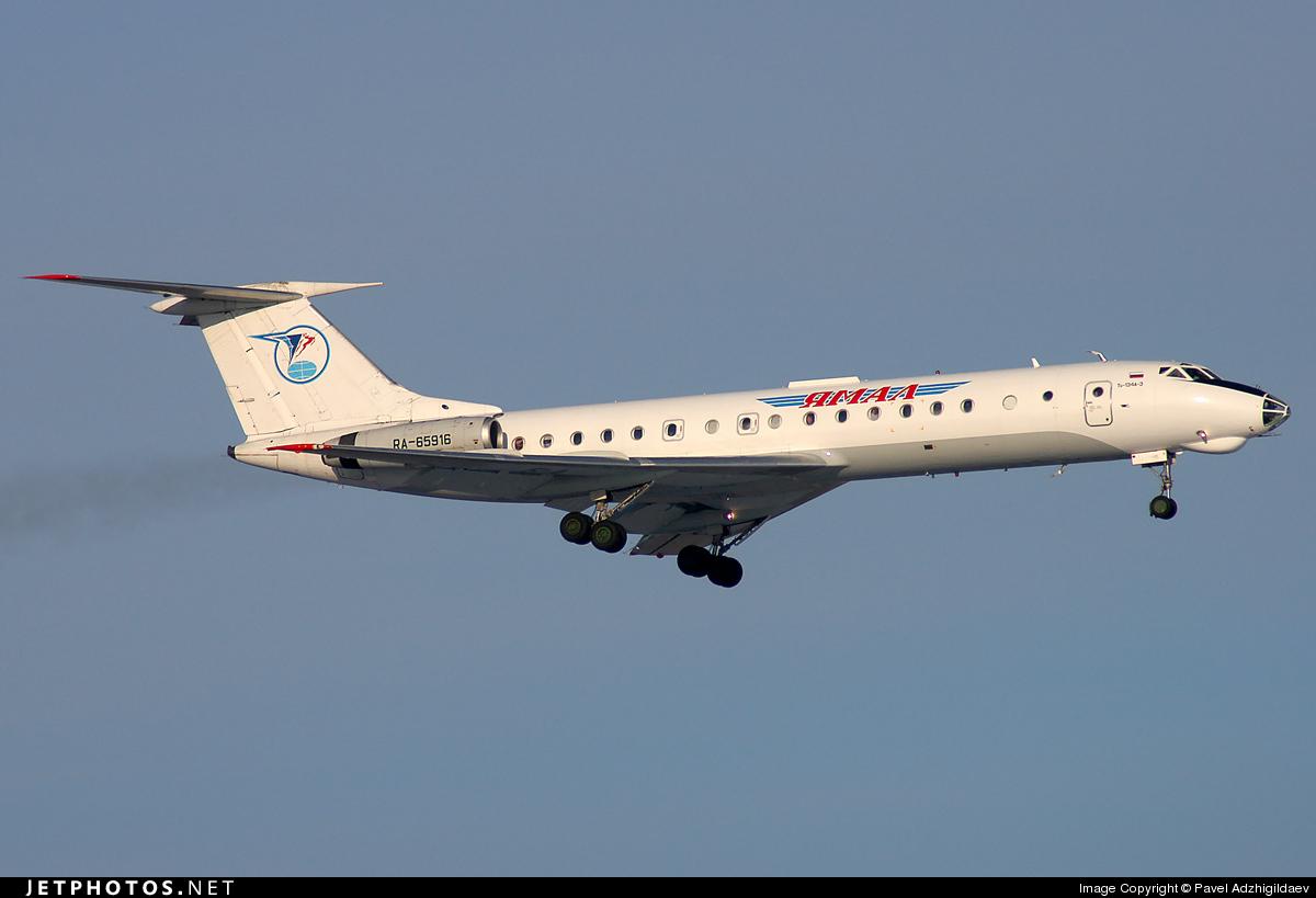 RA-65916 - Tupolev Tu-134A-3 - UTair Aviation