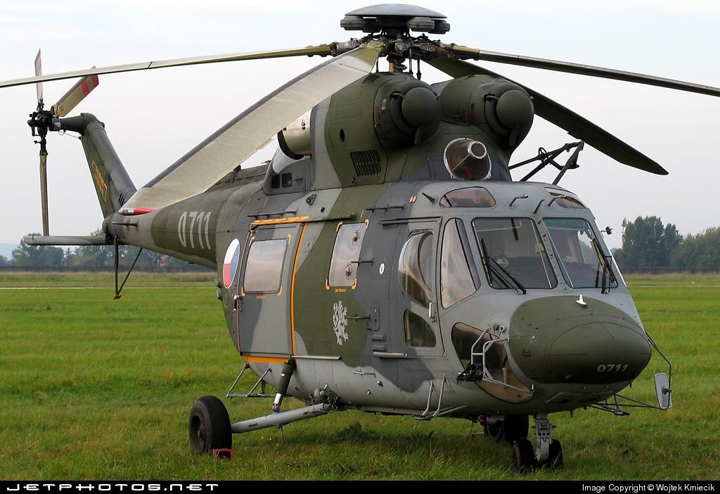 0711 - PZL-Swidnik W3 Sokol - Czech Republic - Air Force