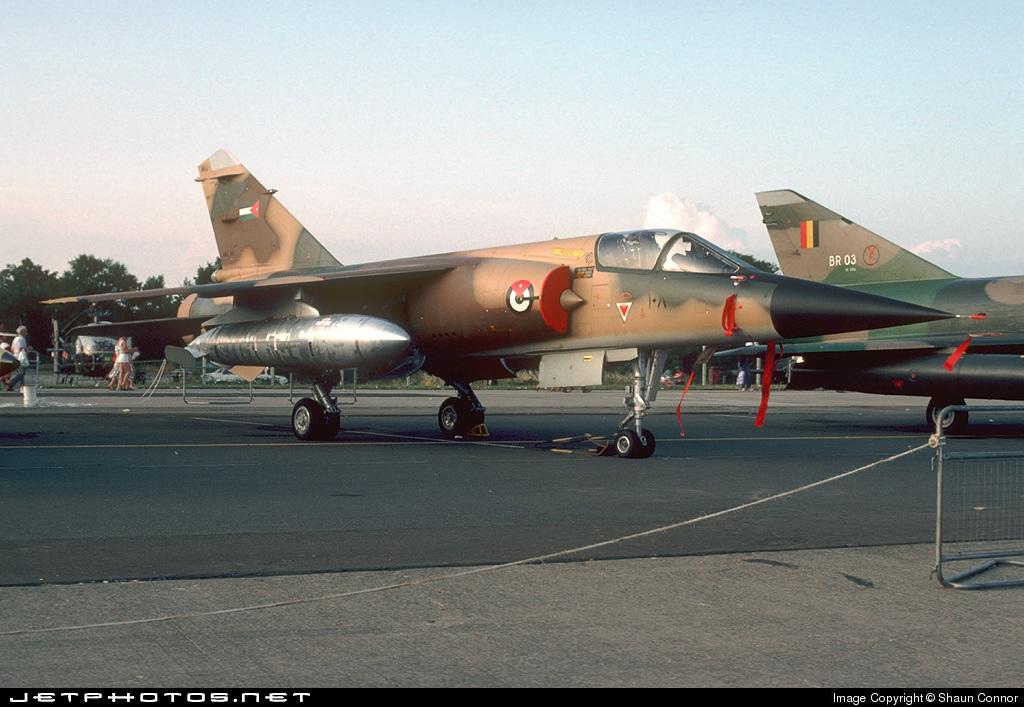 108 - Dassault Mirage F1 - Jordan - Air Force